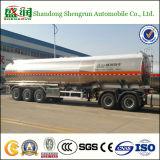 3 assi 42000 litri di alluminio della lega dell'olio carburante di trasporto di rimorchio del serbatoio