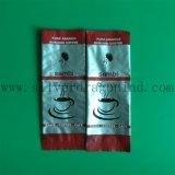 Sac de empaquetage en plastique coloré de grain de café avec la soupape
