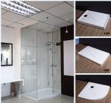 Panneau extérieur plein de douche de baquet de bordure de mur acrylique de salle de bains