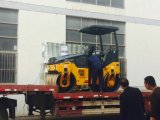 3トンの二重ドラム道ローラーの振動の土のコンパクター(JM803H)