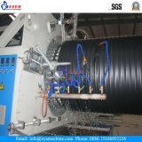 Linha de produção espiral retorcida linha Coiled da tubulação do HDPE parede oca da extrusão da tubulação