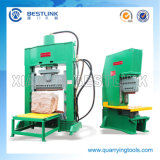Aprire Frame C-Front 70t Power Natural Stone Splitting Machine per Making Small Cubic Pavers