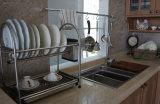 De Amerikaanse Keukenkast van de Deur van pvc van de Stijl (zc-078)