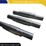 Kundenspezifische Qualität Ss304 schmiedete Keil-Welle für Maschinen-Teile