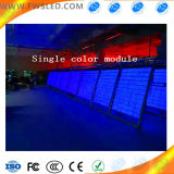El solo panel de visualización Semi-Al aire libre de LED del Azul-Color