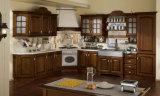 贅沢な18mmタイのカシの台所家具