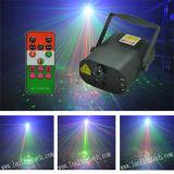 Mini luz laser 300MW Rgrg 8gobos de L6408rrgg y luz azul de 3W LED con teledirigido