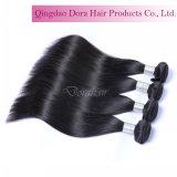 A extensão de tecelagem do cabelo humano personalizada denomina o cabelo cheio do brasileiro do Virgin da cutícula