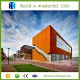 Edificio de varios pisos de acero moderno prefabricado de la fábrica