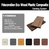 Decking de madeira composto do material WPC do Decking da piscina