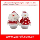 Item del tarro del regalo de la decoración de la Navidad del tarro del caramelo de la Navidad