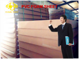 Folha 10mm da espuma do PVC do fabricante de China