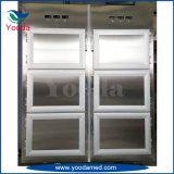 Refrigerador mortuorio fúnebre de seis carrocerías para los cadáveres