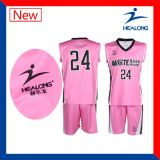 Basquetebol uniforme Jersey de Baseketball do Sublimation de Healong