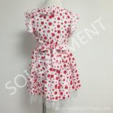 Childer Clothing (KDR-24)를 위한 감미로운 Fashion DOT Baby Girl Dress