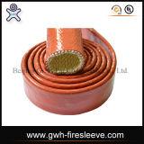 火の袖の布の表面SAE 100 R1atの高品質の鋼線の編みこみの油圧ゴム製ホース
