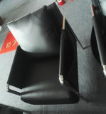 Canapé de escritório de 1 cbm por set, sofá de couro de aço (6927)
