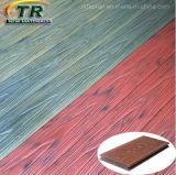 La madera plástica Decking compuesto co-extrusión de Suelos