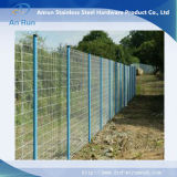 塀のためのPVCによって塗られる溶接された金網