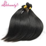 Cabelo natural reto da cor do cabelo humano do Virgin do Cambodian da venda por atacado 100%
