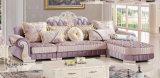Königliches Luxuxsofa, neues klassisches Sofa, Gewebe-Sofa (A892)