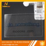 Стикер логоса изготовленный на заказ печатание прозрачный