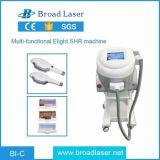 Equipo portable IPL de la belleza del laser del pelo plástico con Ce médico
