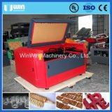 Maschine des CO2 Laser-Scherblock-Preis-Papier-hölzerne Acrylausschnitt-100W