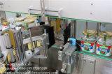 Машина для прикрепления этикеток стикера ярлыков круглой бутылки 3 с Turntable собрания