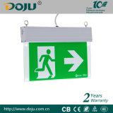 Indicatore luminoso del segno dell'uscita di sicurezza di DJ-01k LED con i CB (in attesa del montato di)