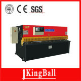 Máquina da tesoura de China Kingball (QC12Y-8X4000) com padrão europeu do controlador do CNC