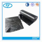 Sac d'ordures en plastique remplaçable de LDPE de HDPE sur le roulis