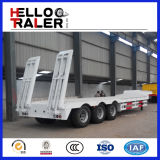 3 as Aanhangwagen van de Vrachtwagen van het Bed van 60 Ton de Lage