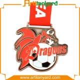 Медаль металла спорта сувенира эмали металла мягкое