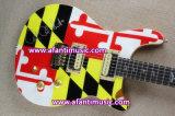 Fotorezeptoren reden an,/Mahagonikarosserie u. Stutzen,/Afanti elektrische Gitarre (APR-066)