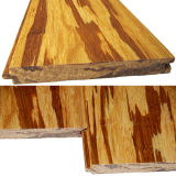 Revêtement de sol en bambou tissé Tiger Strand Vernis UV