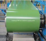 SGCC strich galvanisiertes Stahlblech PPGI in den bunten Ringen vor