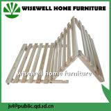 Домашняя кровать древесины сосенки мебели одиночная складывая без тюфяка