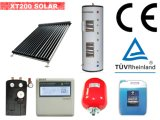 TUVによって証明される分割加圧太陽給湯装置(太陽Keymark)