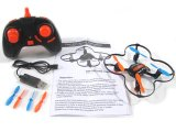 2.4G Mini Small Cheap RC Quadcopter RC Drone avec 6-Axis Gyro USB