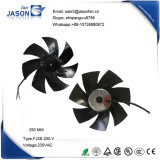ventilador axial do motor do rotor do External de 250mm para o condicionador de ar 1450W (FJ2E-250. V)