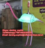 Opblaasbare Flamingo met LEIDENE Lichten voor Decoratie