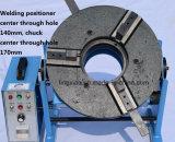 セリウムは穴170mmのチャックを通して中心が付いている溶接の回転表HD-100 (穴140mmを通した中心)を証明した