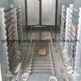 Electric montato Heating Curing Oven in Powder Coating Line