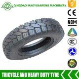 5.00-12 neumáticos resistentes del triciclo del descuento de la marca de fábrica de China para la venta