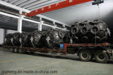 Aile en caoutchouc pneumatique de flottement pour des exécutions de Sts avec la conformité de Dnvgl