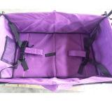 Vagão de dobramento com dossel & o saco refrigerando