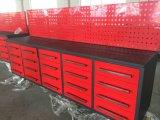 Wir allgemeiner Werkzeugkasten mit Rad-Metalrollen-Aluminium-Werkzeugkasten
