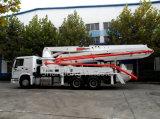 bomba montada caminhão do misturador concreto de 37m