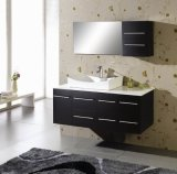 18mm Solid Oak Wood Bathroom Wall Hung Vanity